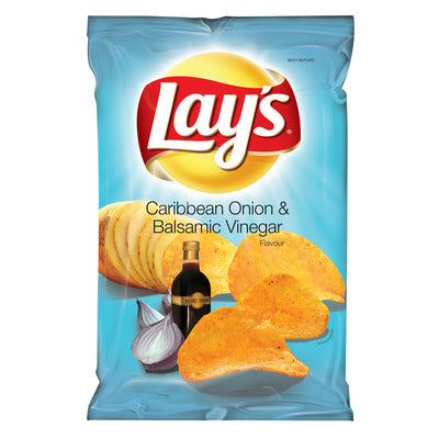 Lay's Caribbean Onion And Balsamic Vinegar Chips 125g