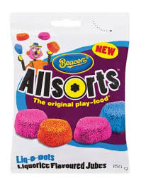 Beacon Allsorts Liq-O-Dots 150g