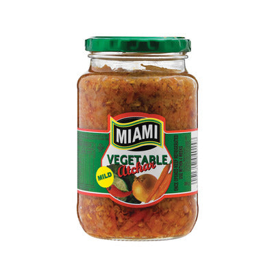 Miami Mild Mixed Vegetable Atchaar 380g