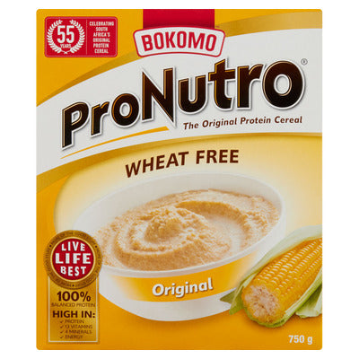 Bokomo  Pronutro Original Wheat Free 750g