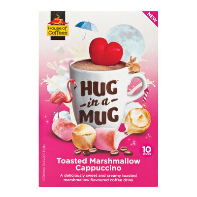 Hug In A Mug Toasted Marshmallow Cappuccino 10's