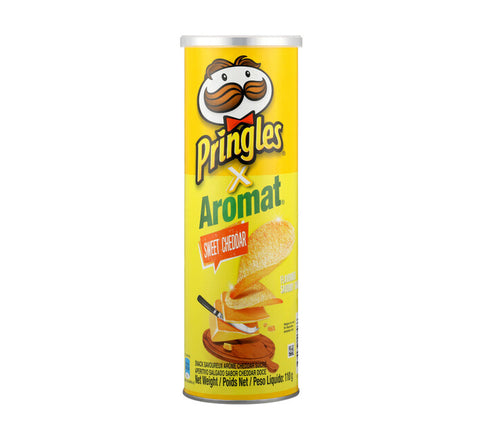 Pringles Potato Chips Aromat Sweet Cheddar (1 x 110g)