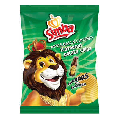 Simba Original Chutney Chips  (Limit x2 per customer)