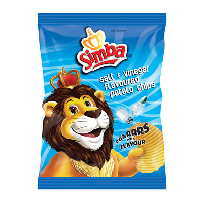 Simba Salt & Vinegar Chips 125g