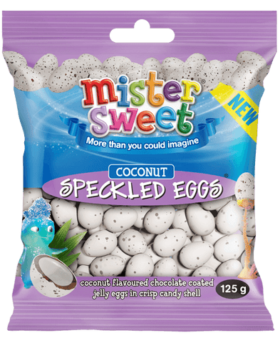 Mister Sweet Speckled Eggs Coconut 125g