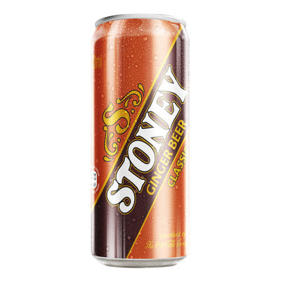 Stoney Ginger Flavored Soft Drink Can (300ml x 6)