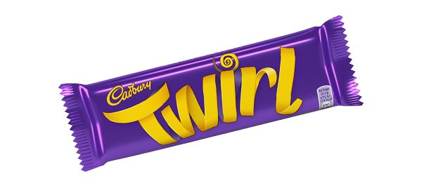 Cadbury Twirls Chocolate Bar