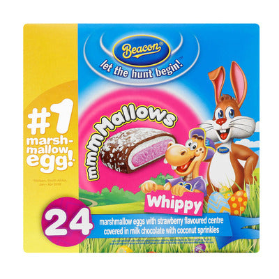 Beacon Whippy Marshmallow Eggs 24EA
