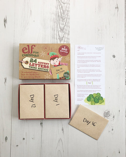 Christmas Elf Door & Third Edition Advent Letter Set