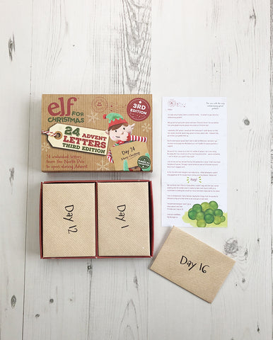 Third Edition Advent Letter Set, Unique Christmas Advent Calendar Idea