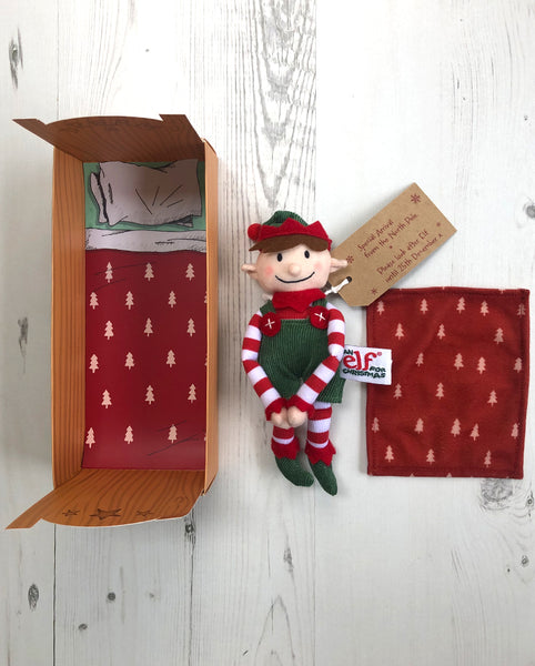 Little Elf & Bed Set and Third Edition Advent Letters Bundle