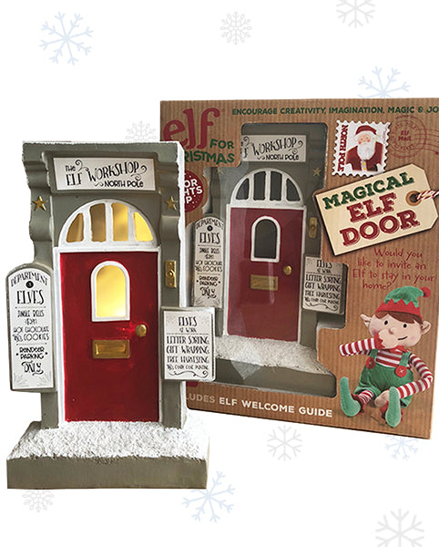 Magical Christmas Elf Door – Light-up Elf Door