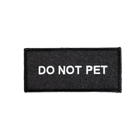 Do Not Pet Patch