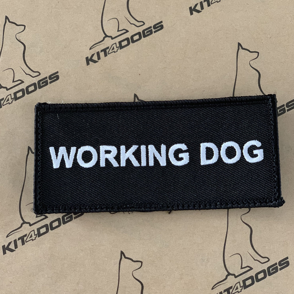 Working Dog Patch - Kit4dogs