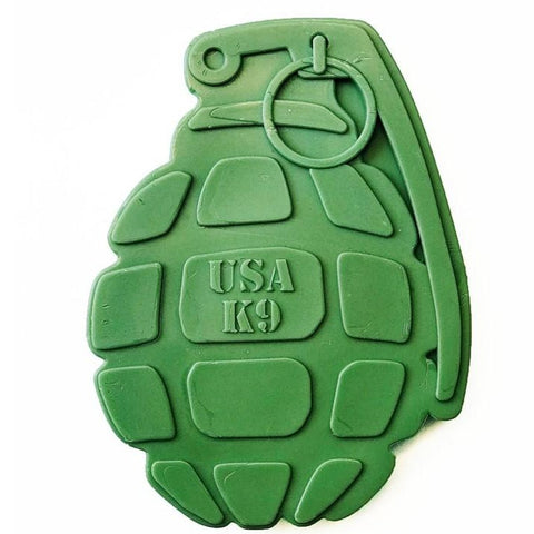 USA K9 Grenade Nylon Toy - Kit4dogs