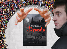 True Story of Dracula by Martin Kukk--Grønbjerg |  Horror Story, Dracula, Vampire, count dracula, bramstoker, movie, book, Manuscript Ready, Scary, Producers, Film investor, Romania, Transylvania, blood, Transformed into Dracula, best of dracula