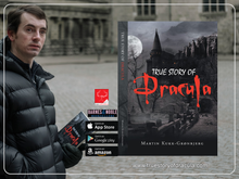 True Story of Dracula by Martin Kukk-Gronbjerg A Horror story recommend it to everyone who is interested in history, Dracula, Vampire, Monster, Brancastle, Halloween, Horrorfan, Wolfman, Manusctript, Hollywood, Bollywood, Movie or interested in Gothic reading this good book.