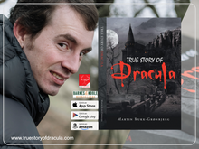 True Story of Dracula by Martin Kukk-Gronbjerg A Horror story recommend it to everyone who is interested in history, Dracula, Vampire, Monster, Brancastle, Halloween, Horrorfan, Wolfman, Manusctript, Hollywood, Bollywood, Movie or interested in Gothic reading this good book
