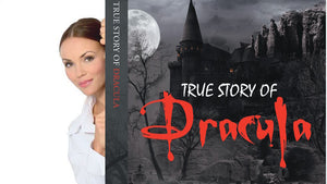True Story of Dracula by Martin Kukk--Grønbjerg |  Horror Story, Dracula, Vampire, count dracula, bramstoker, movie, book, Manuscript Ready, Scary, Producers, Film investor, Romania, Transylvania, blood, Transformed into Dracula film maker