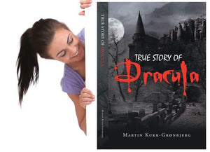True Story of Dracula by Martin Kukk--Grønbjerg |  Horror Story, Dracula, Vampire, count dracula, bramstoker, movie, book, Manuscript Ready, Scary, Producers, Film investor, Romania, Transylvania, blood, Transformed into Dracula, recent horror release