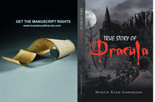 True Story of Dracula by Martin Kukk--Grønbjerg |  Horror Story, Dracula, Vampire, count dracula, bramstoker, movie, book, Manuscript Ready, Scary, Producers, Film investor, Romania, Transylvania, blood, Transformed into Dracula, book of dracula