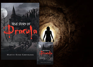 new release of True Story of Dracula by Martin Kukk--Grønbjerg |  Horror Story, Dracula, Vampire, count dracula, bramstoker, movie, book, Manuscript Ready, Scary, Producers, Film investor, Romania, Transylvania, blood, Transformed into Dracula