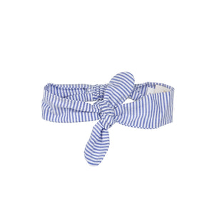 Sail Away Matching Lucy Bow by Haute Baby