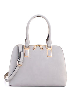 2in1 Grey Satchel