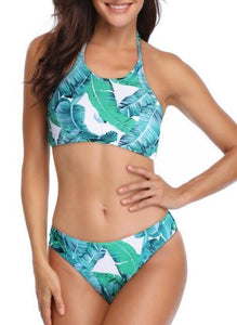 """Stay Palm"" 2 Piece Bikini"