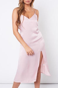 """Cami"" Slip Dress Blush"