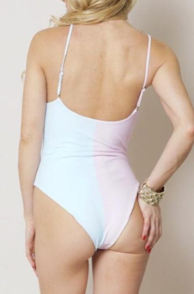 """South Beach"" One Piece Swimsuit"