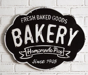 """Bakery"" Hanging Sign"