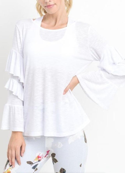 """Laila"" Cover Up Top"