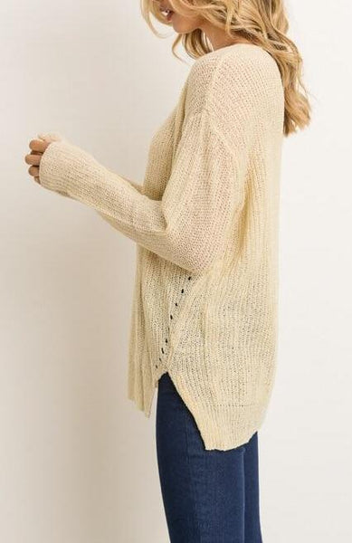 """Cream & Sugar"" Sweater"