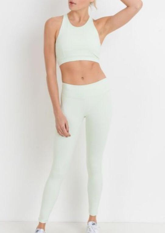 """Sweet Sorbet"" Pants Mint"