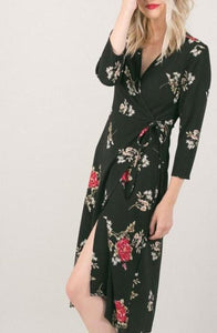 """Rose Garden"" Wrap Dress"