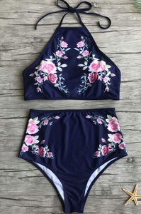 """Catalina"" 2 Piece Navy"