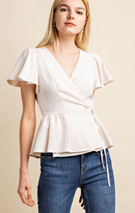 """Cream and Sugar"" Top"