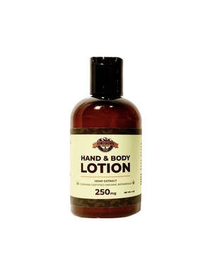 Hemp Hand & Body Lotion (250MG/4OZ)