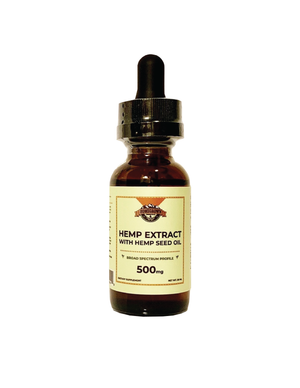 Hemp Extract With Hemp Seed Oil