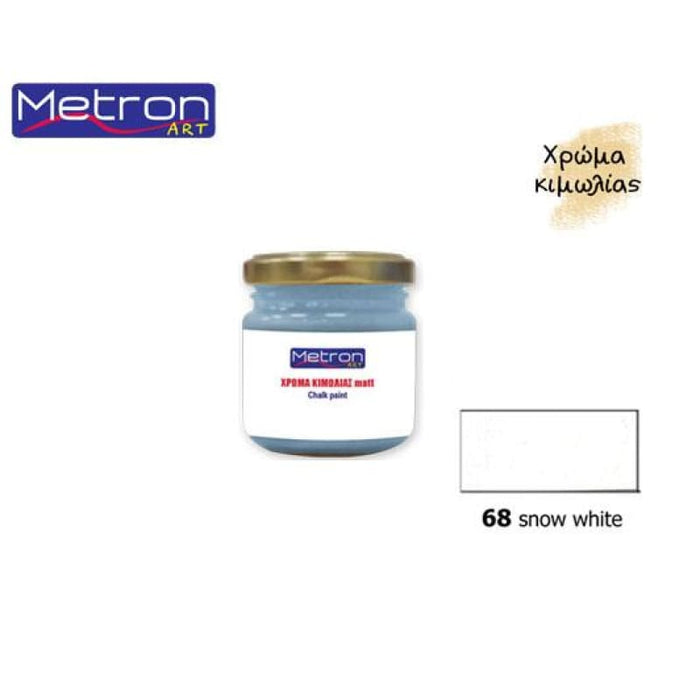 METRON ART 110ml SNOW WHITE 68