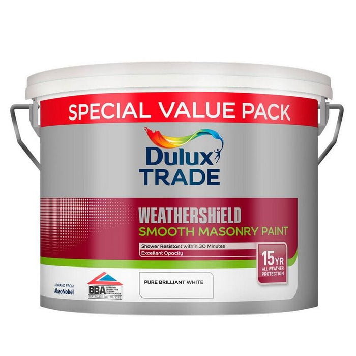 Dulux Trade Weathershield Smooth Masonry
