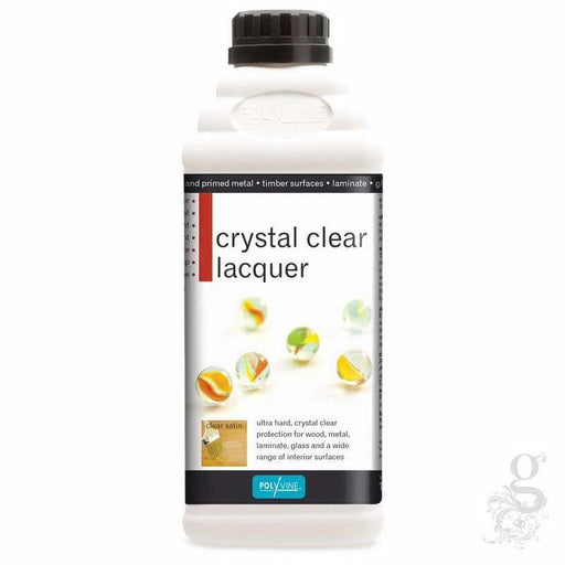 Polyvine Crystal Clear Laquer