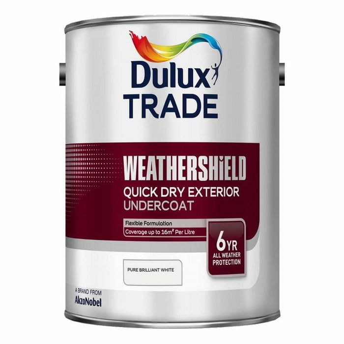 Dulux Trade Weathershield Quick Drying Exterior Undercoat