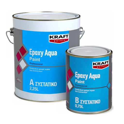 Kraft Epoxy Paint Aqua 2