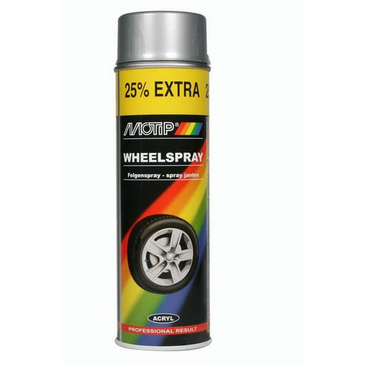 Motip Spray Wheel 04010 Ζάντας Σκούρο Ασημί 500ml - Nikos G.Ntagiopoulos Paint Plus