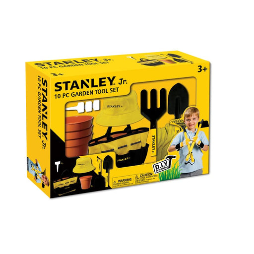 STANLEY JR SG004-10-SY ΣΕΤ ΕΡΓΑΛΕΙΩΝ ΚΗΠΟΥ 10 ΤΕΜΑΧΙΩΝ