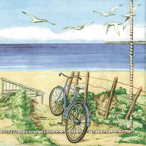 Ambiente 33x33 cm Beach Bicycle