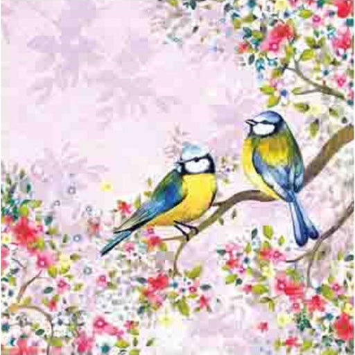 Ambiente 33x33 cm Bird Watching Lila