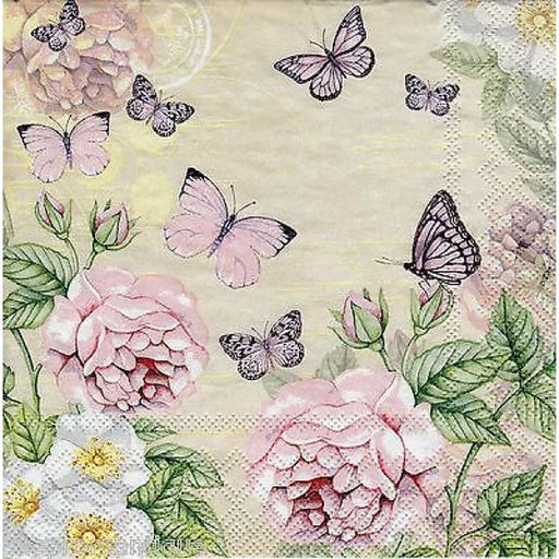 Ambiente 33x33 cm Botanical Cream